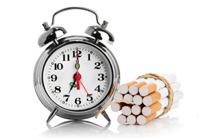 Часы и сигареты