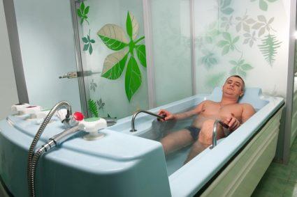 Лечение радоновой ванной