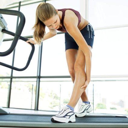 Боль в ноге во время тренировки