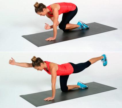 Укрепление спины гимнастикой