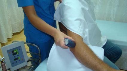 Лечение локтя фонорезом