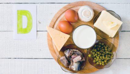 Продукты богаты витамином Д